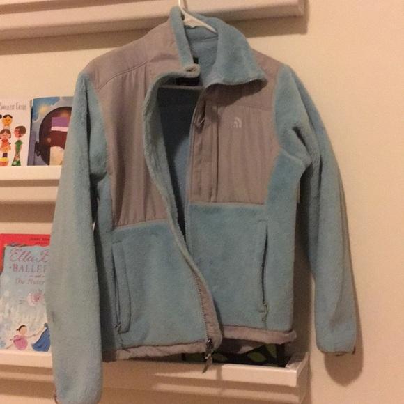 The North Face Jackets & Blazers - The north face blue Denali fleece classic Polartec